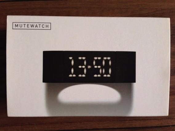 アップル共同設立者スティーブ・ウォズニアックが愛用する時計MUTEWATCHを購入しました。