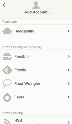 Rss client reeder2 review4