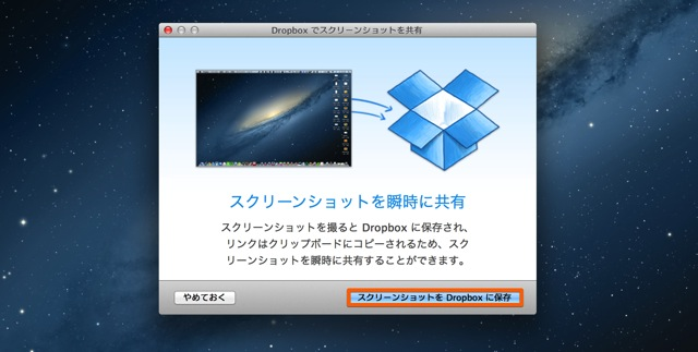 Dropbox screenshot share2