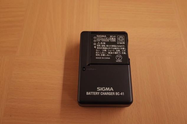 シグマ製バッテリー&充電器3