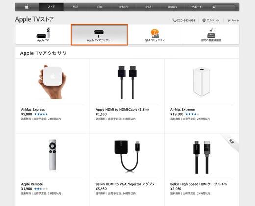 Apple TVストア4