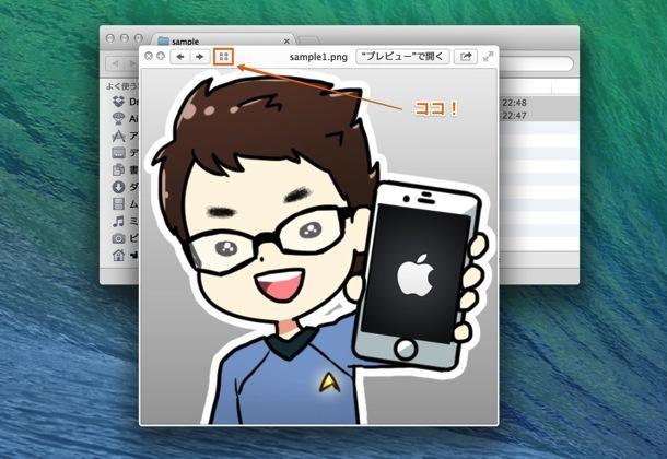 Quick Look(クイックルック)で複数ファイルを同時に見る方法3
