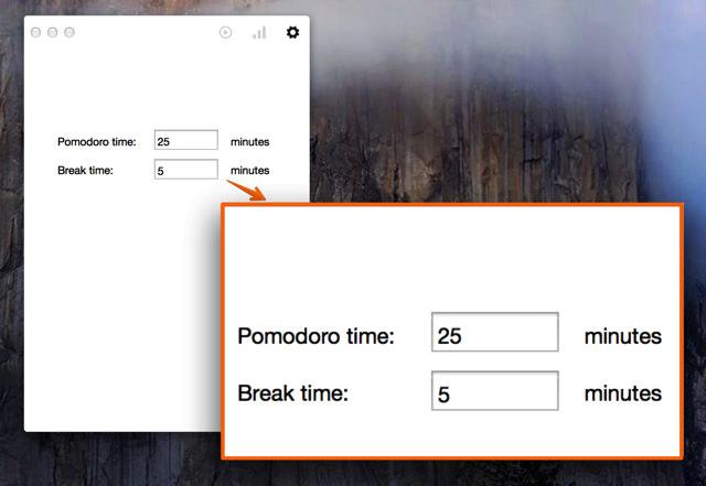 時間間隔の調整が可能