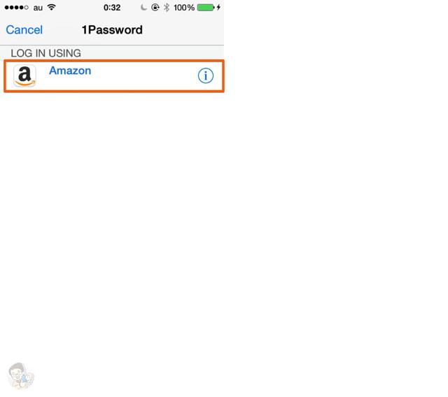 任意のパスワードを入力する
