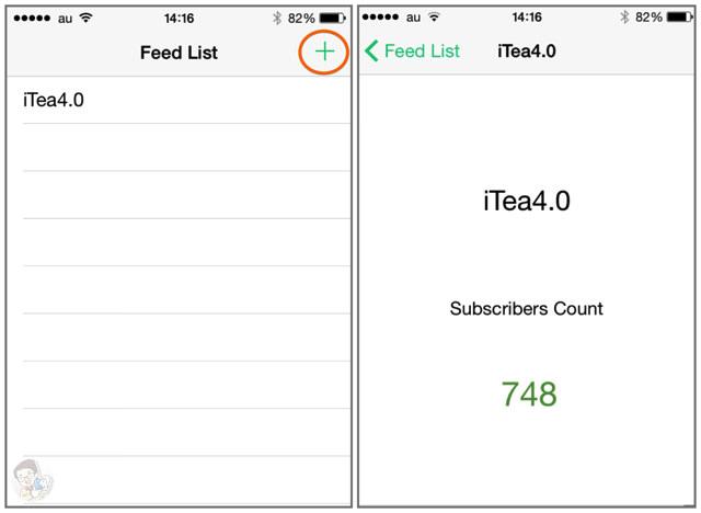 Feed List にブログを登録するだけでFeedlyの購読者数がわかる