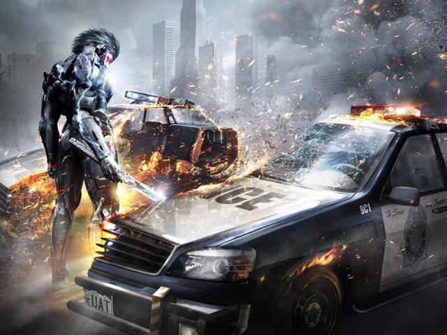 メタルギアシリーズのMacアプリ「Metal Gear Rising - Revengeance」がアメリカの Mac App Store でリリース!