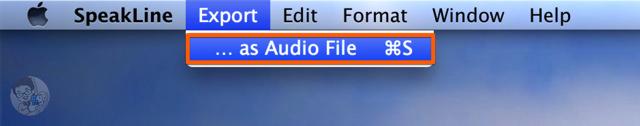再生したシステム音声を録音して保存する
