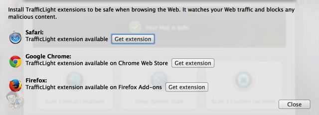 ウェブブラウザに拡張機能をインストールする