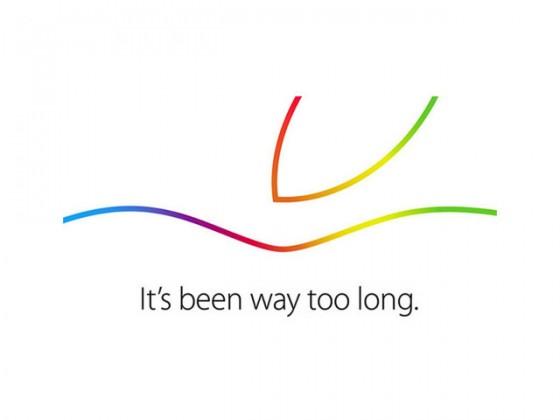 Apple、2014年10月16日にスペシャルイベント開催!新型iPad発表へ
