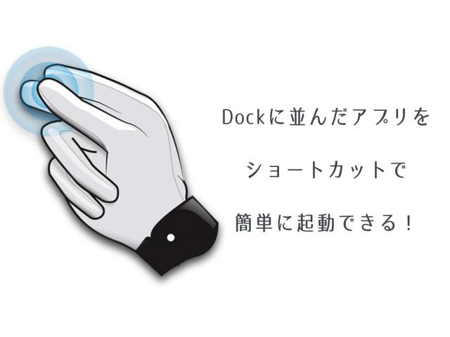 MacのDockに並んだアプリをショートカットで簡単に起動できる「Snap」