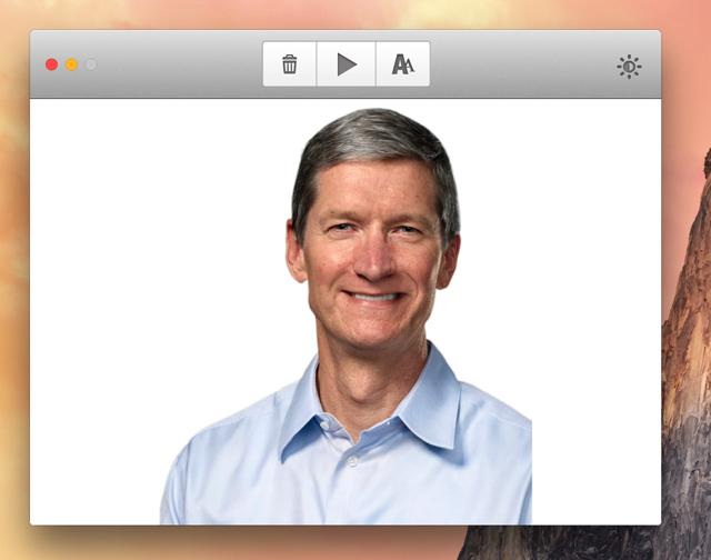 アプリ内に画像をドラッグ&ドロップする