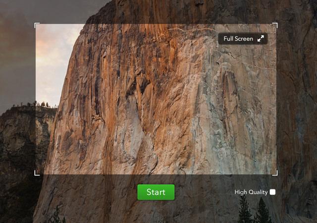 デスクトップ上の操作を動画撮影しすぐに共有することも可能