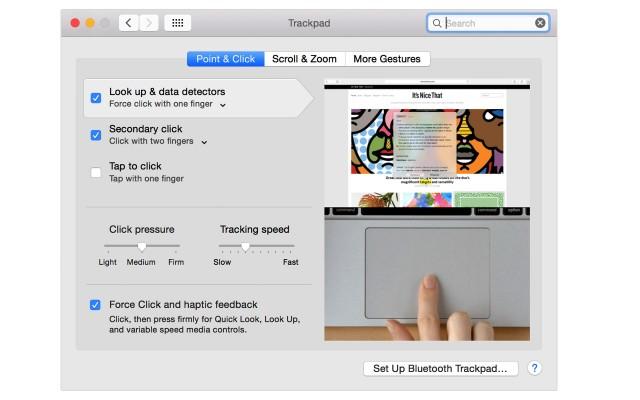 Apple、「感圧タッチトラックパッドの使い方」を公開