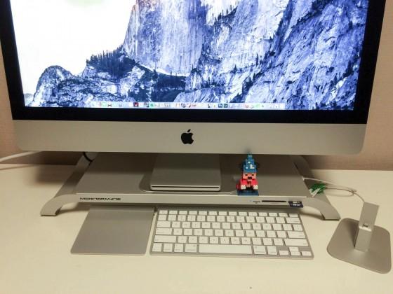 【レビュー】iMac 5K スタンド「FNTE MONITORMATE Prostation 3.0 Multi-function Platform」が便利すぎてヤバイ!