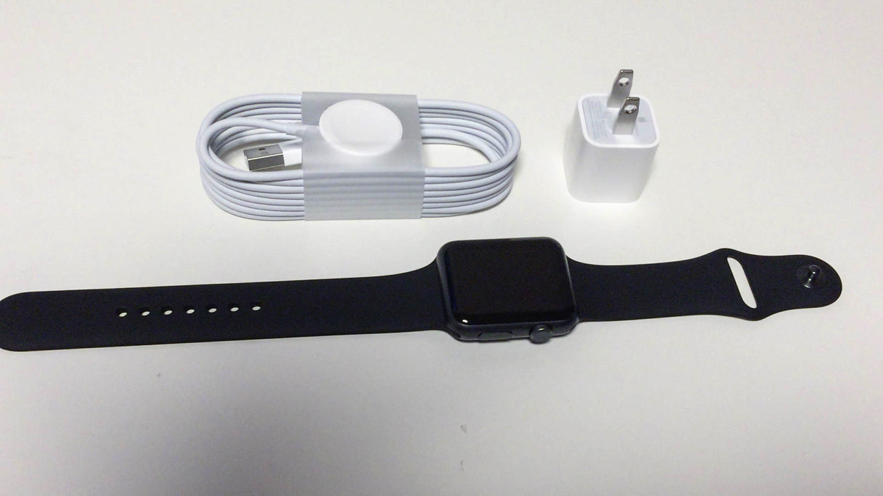 Apple watch 42mm space gray unboxing 201512