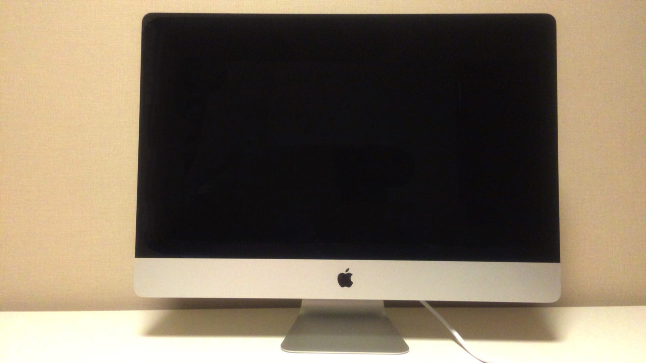 iMac Retina 5K ディスプレイモデル正面