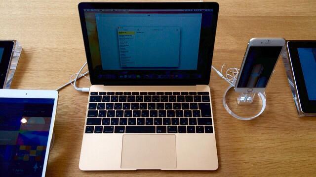 本日も入荷・販売なし?MacBook(12インチ)をアップルストア表参道で触ってきた。