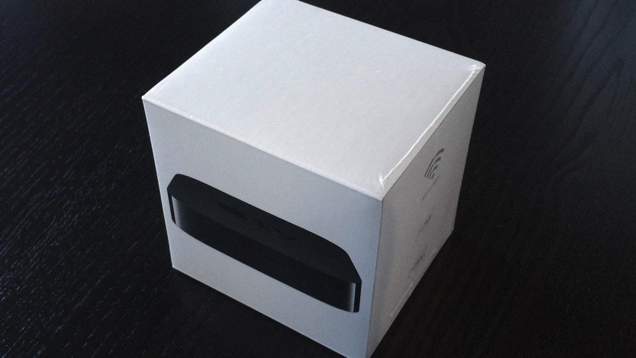 Apple TV 第三世代の外箱
