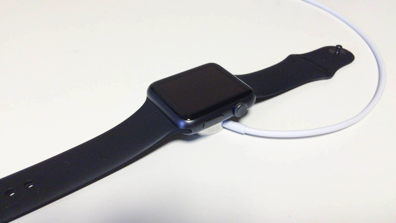 Review apple watch magnet type charging cable6