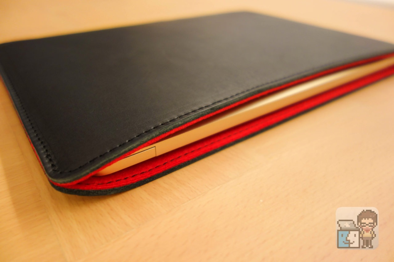 Review oiled leather sleeve for macbook 12 inch made by craftsmen10