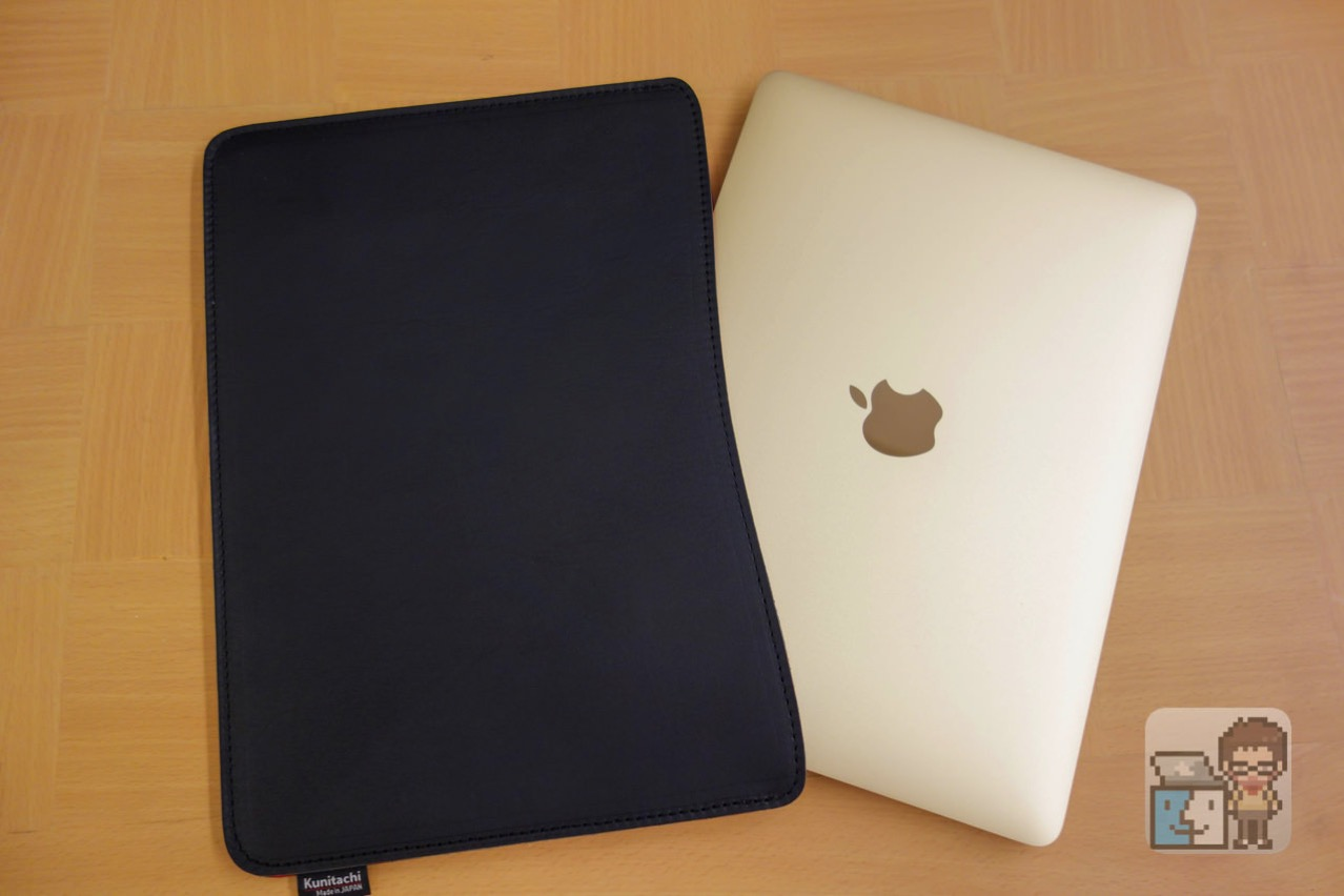 Review oiled leather sleeve for macbook 12 inch made by craftsmen3