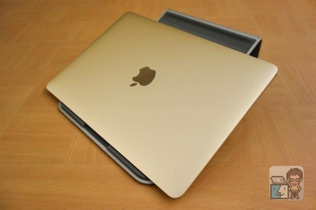 【レビュー】超快適!MacBook 12インチ 対応スタンド「Twelve South ParcSlope for MacBook」