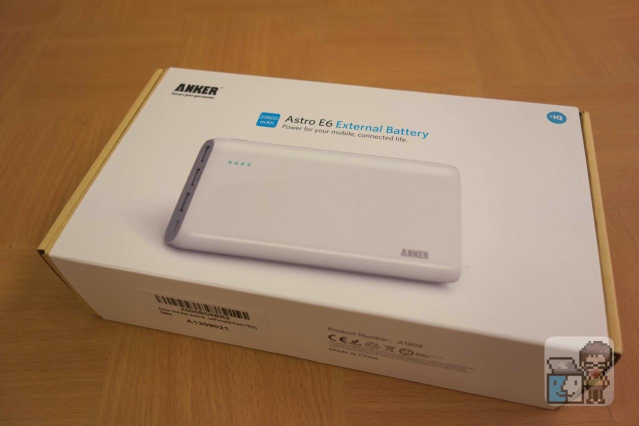 【レビュー】旅行中の充電に最適!Anker Astro E6 モバイルバッテリー