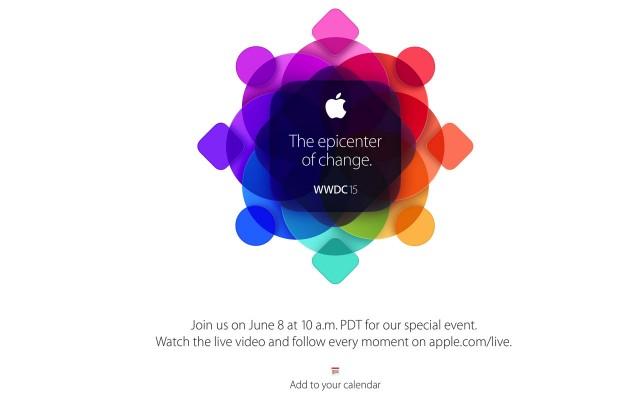 Apple、「WWDC 2015」のライブ配信を決定!月額10ドルの音楽配信サービスを発表か?!