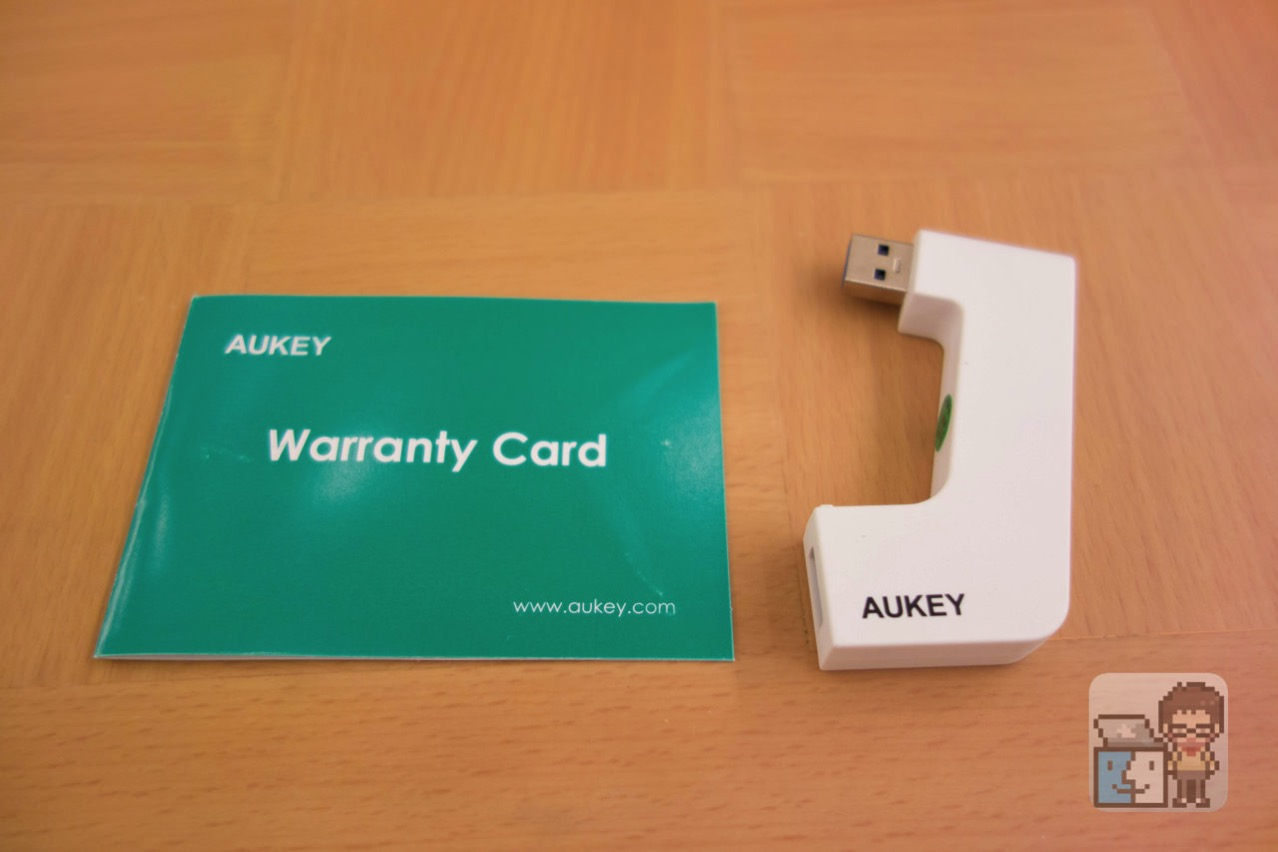 Aukey usb30 hub usb connector3