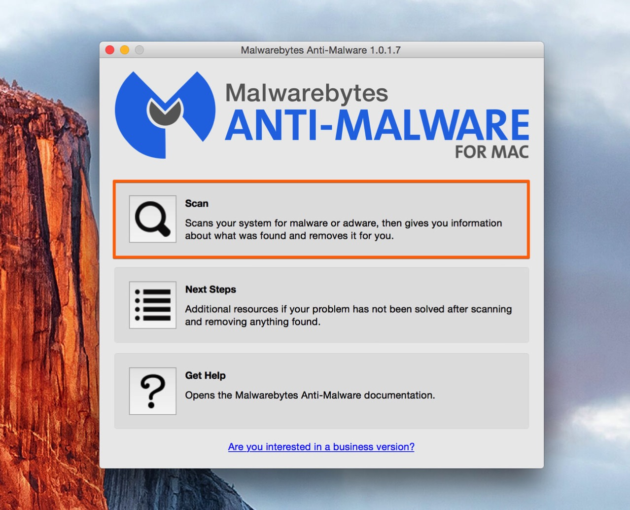 Malwarebytes anti malware for mac3