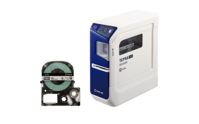 史上最強のテプラ誕生!電池駆動OK!MacとiPhoneからUSBとBluetooth経由でラベル作成可能な「テプラPRO SR5500P」登場!