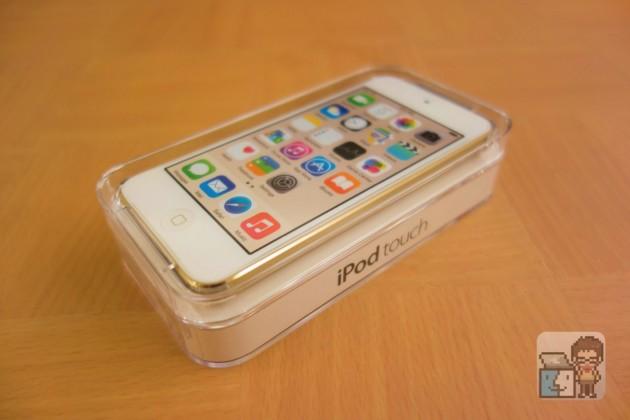 【レビュー】iPod touch(第6世代)購入&開封してみた。