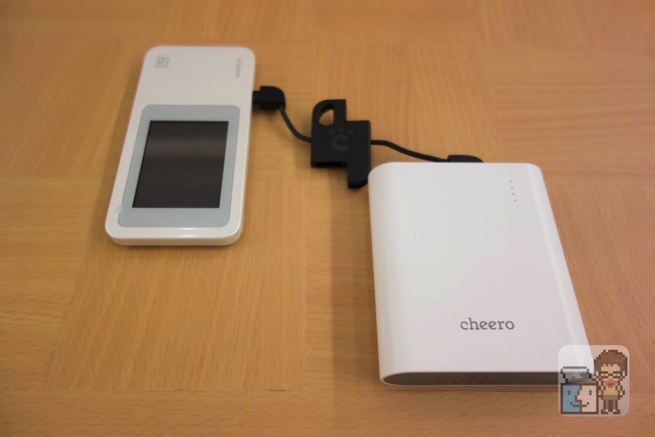 Cheero plate cable with micro usb1
