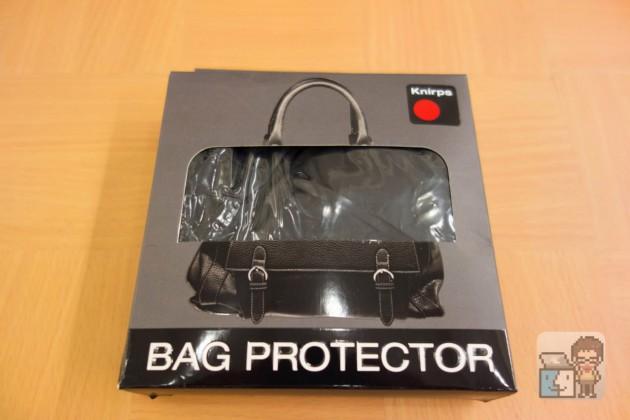 【レビュー】どしゃ降りの雨からバッグを守る!防水レインカバー「Knirps BAG PROTECTOR」