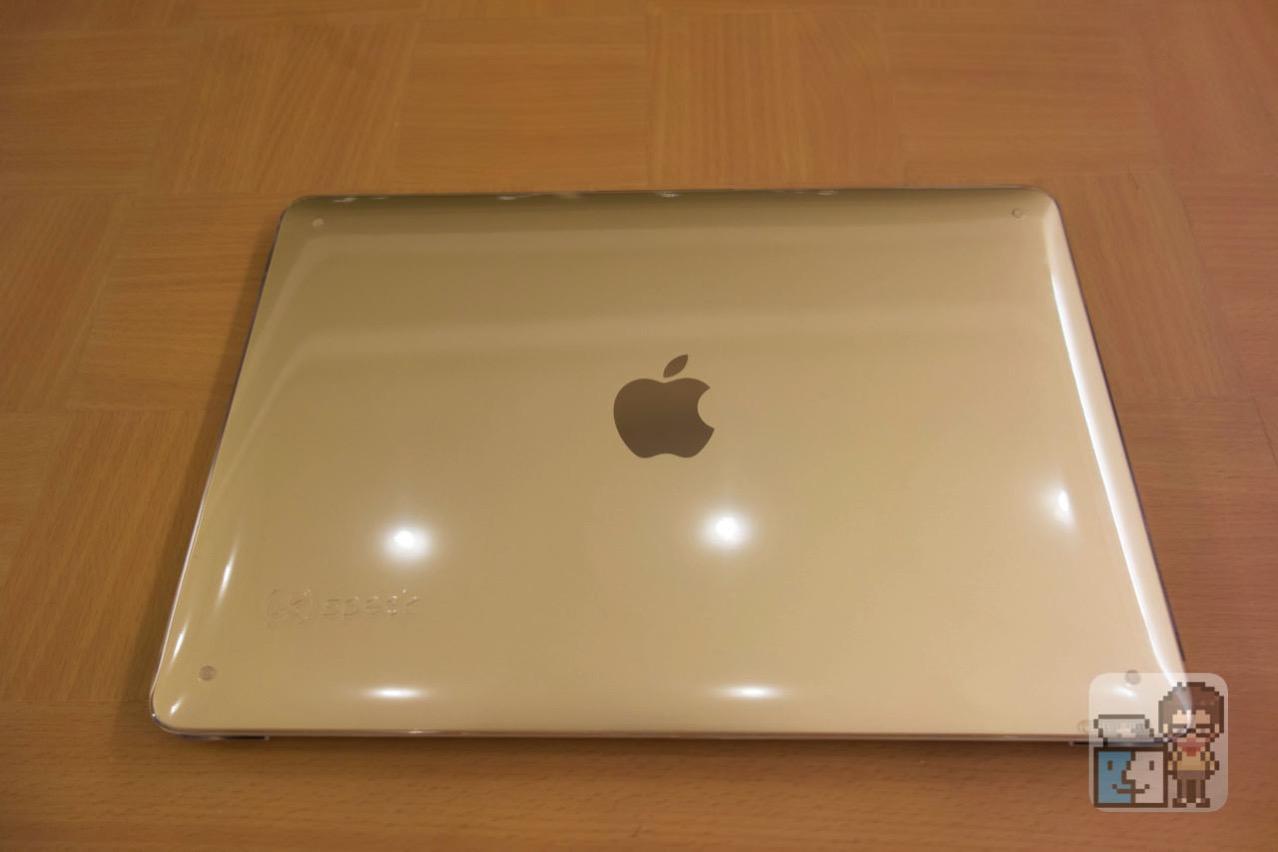 【レビュー】MacBook 12インチ専用のハードケースは「Speck MacBook 12 SeeThru」がおすすめ!