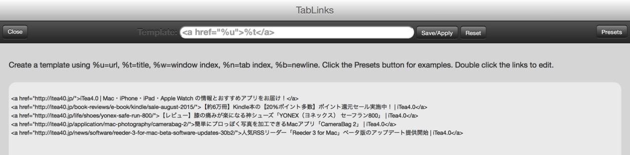 Tablinks3