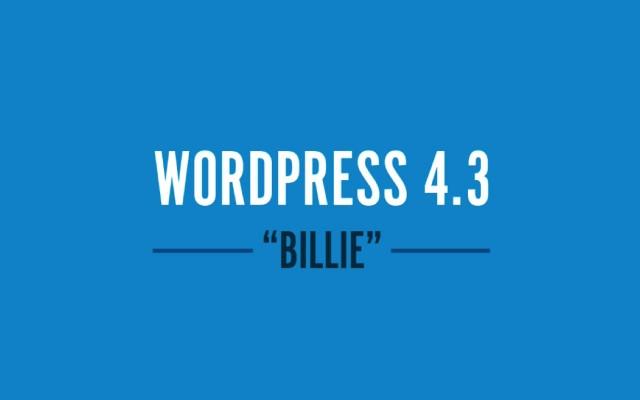 WordPress 4.3「Billie」新機能「サイトアイコン」でファビコンを設定する方法【使い方】