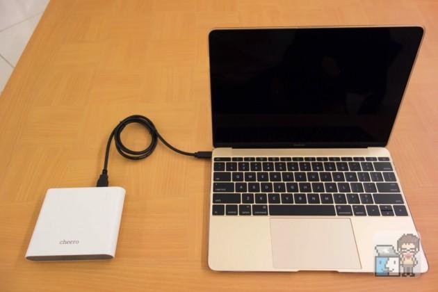 【レビュー】MacBook 12インチに対応!「cheero Power Plus 3 Premium 20100mAh」モバイルバッテリー