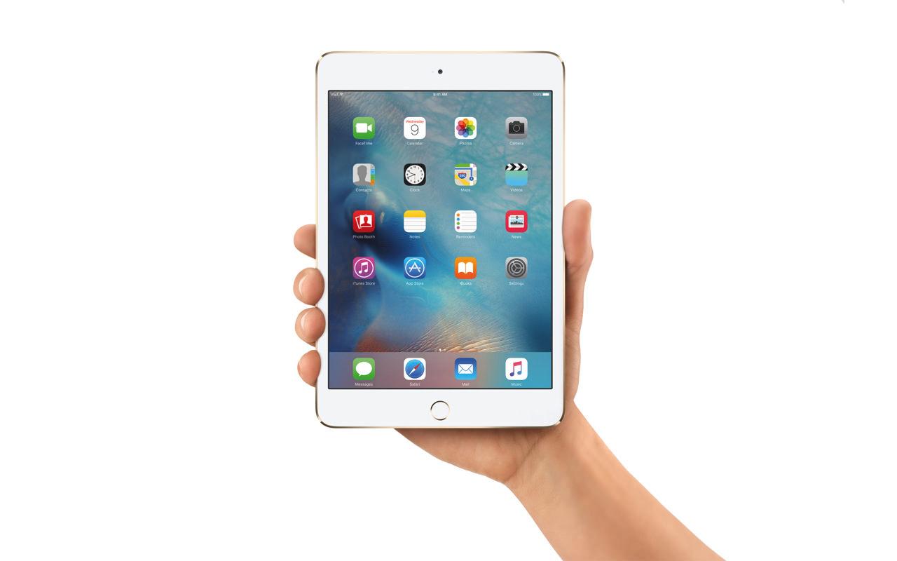 「iPad mini 4」、1.5GHzのA8プロセッサ、2GBのメモリを搭載していることが明らかに