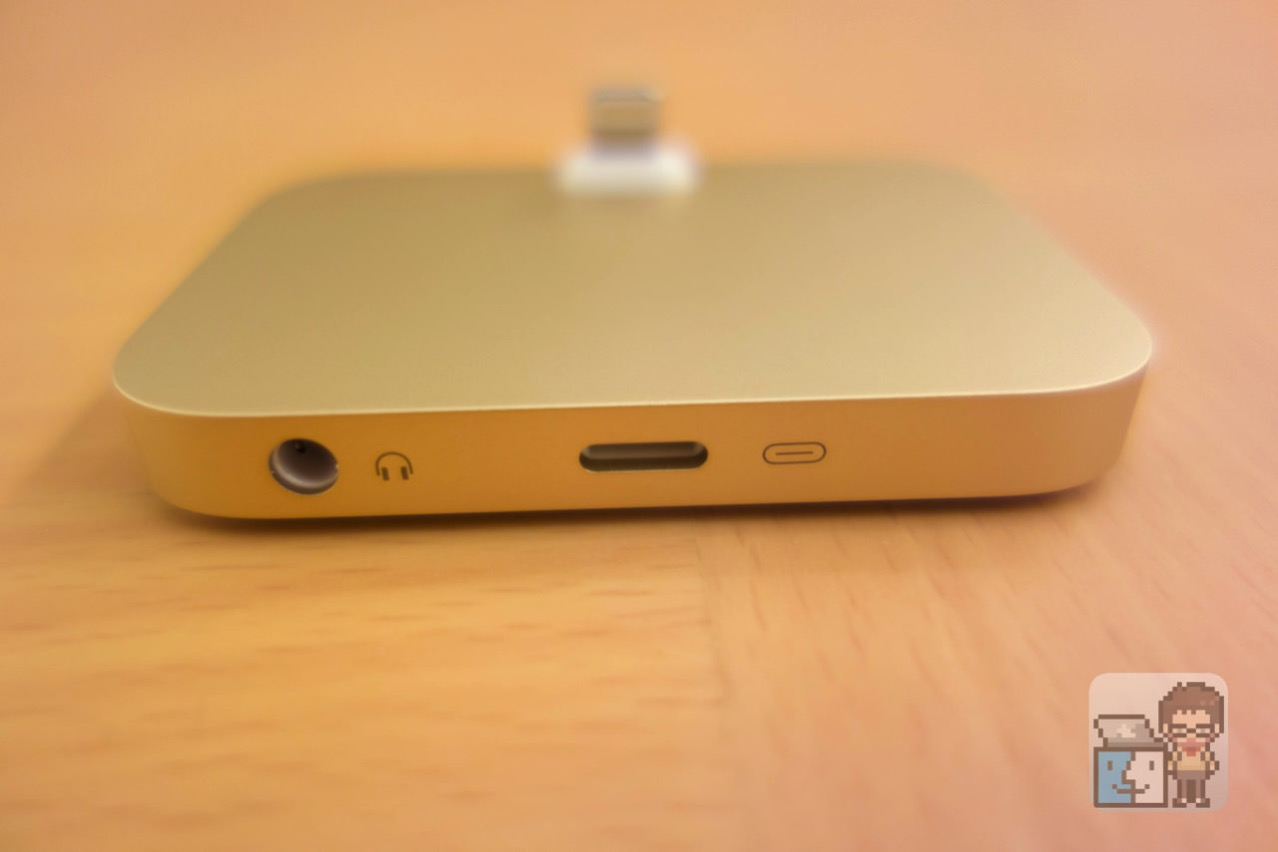 Iphone lightning dock gold first impression2