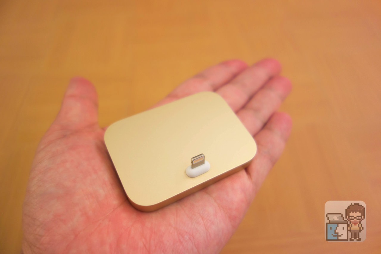 Iphone lightning dock gold first impression3