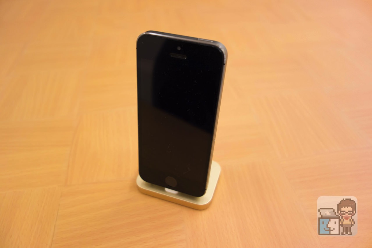 Iphone lightning dock gold first impression5