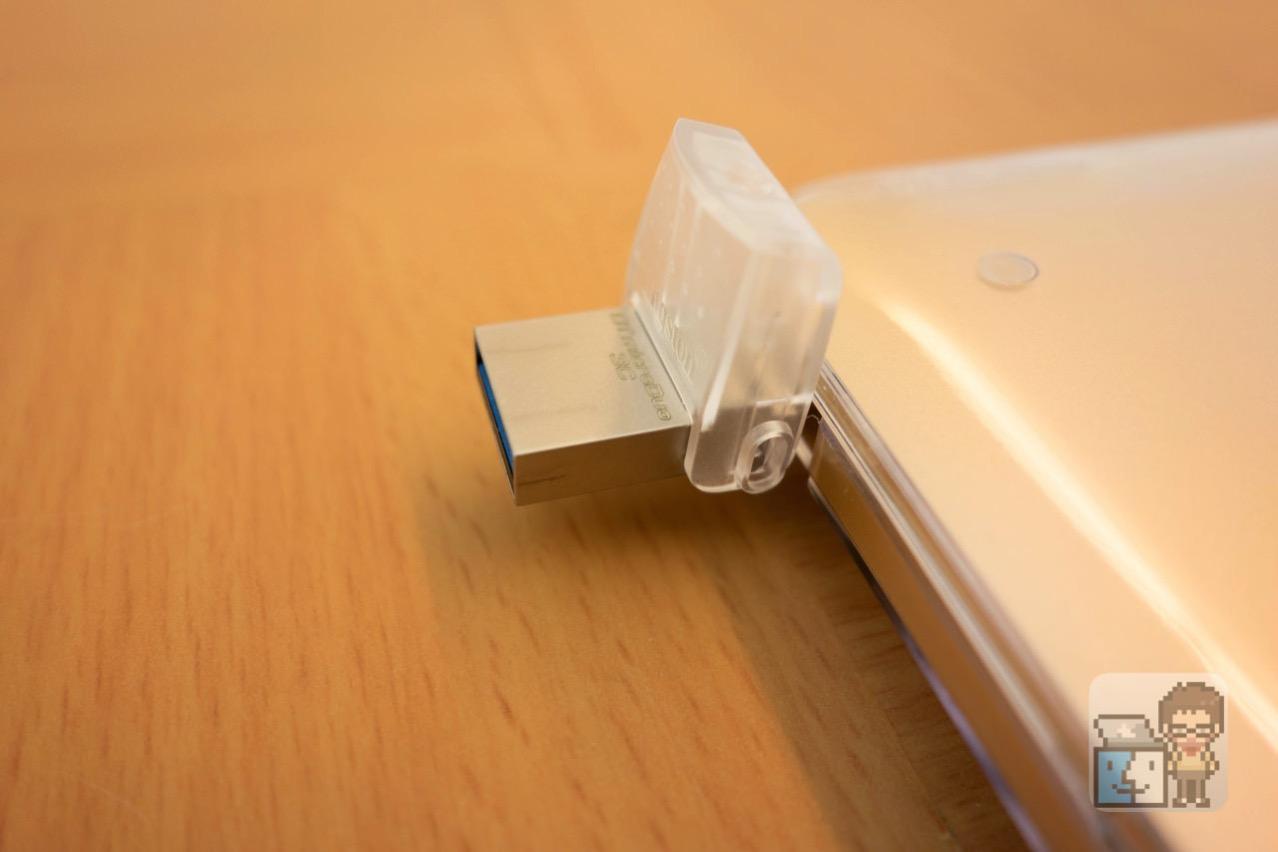 【レビュー】MacBook 12インチ(USB-C)と他のMac(USB-A)でデータ共有できるフラッシュメモリ