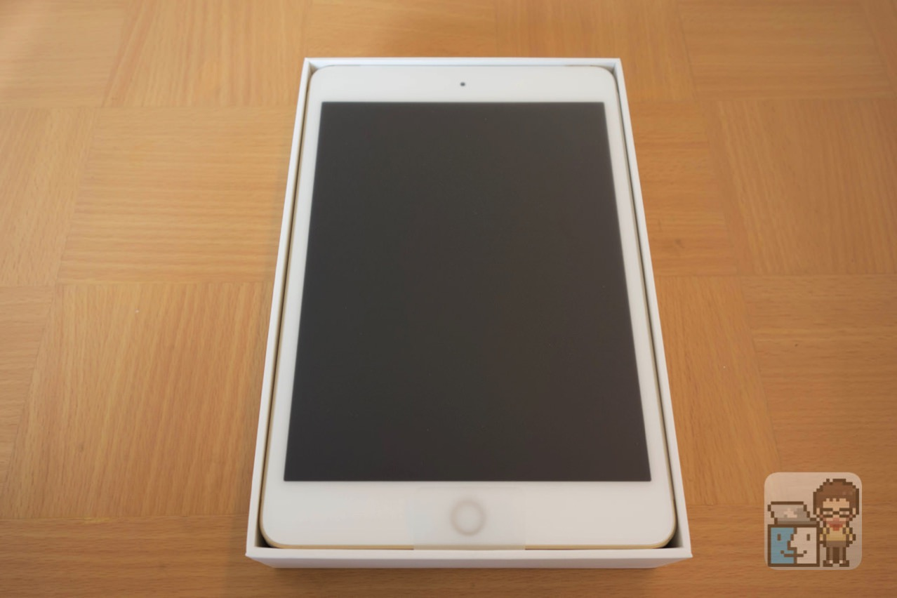 Unboxing ipad mini 4 wi fi and cellular 64gb gold model2