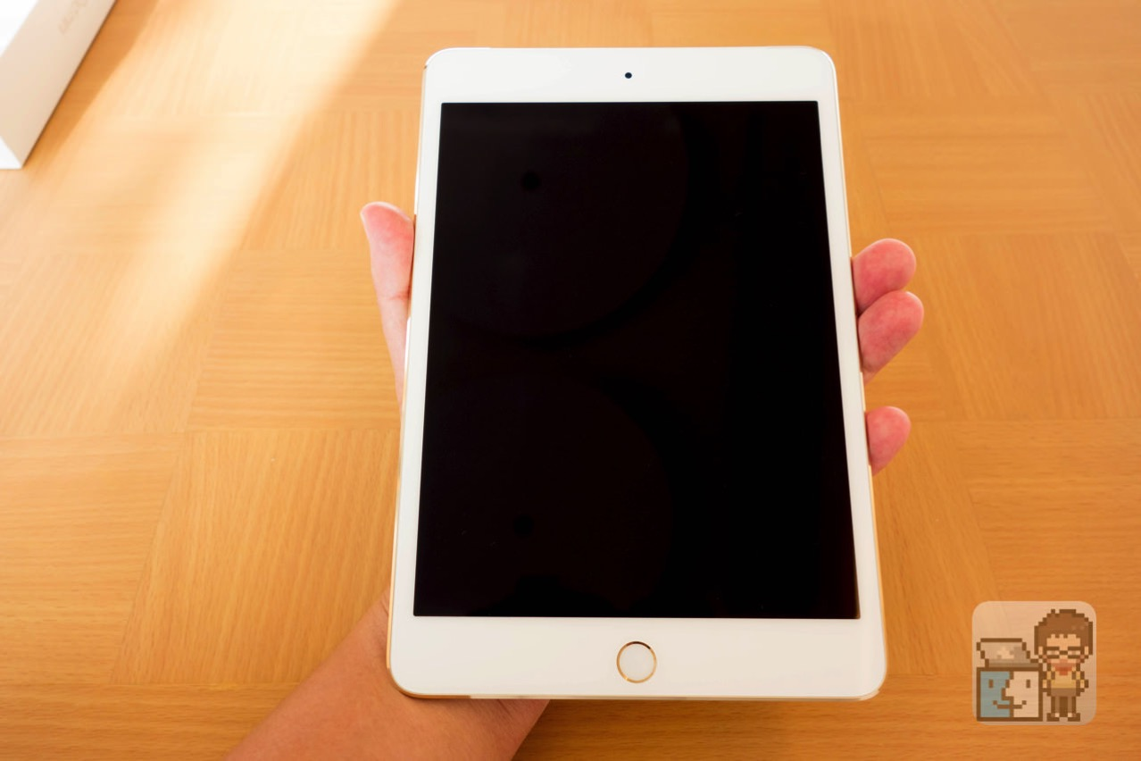 Unboxing ipad mini 4 wi fi and cellular 64gb gold model3