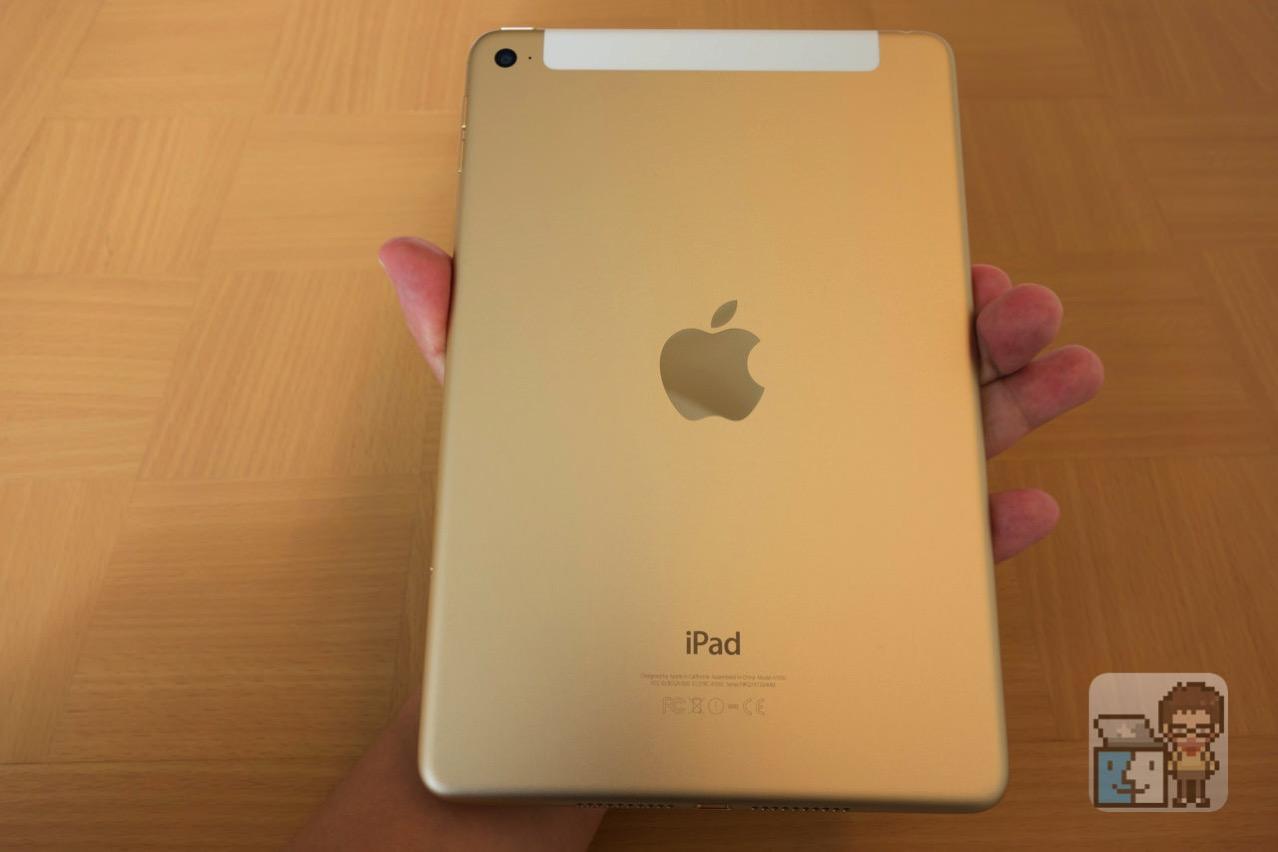 【レビュー】iPad mini 4 Wi-Fi + セルラー 64GB ゴールド購入。薄くて軽い!動作も快適!
