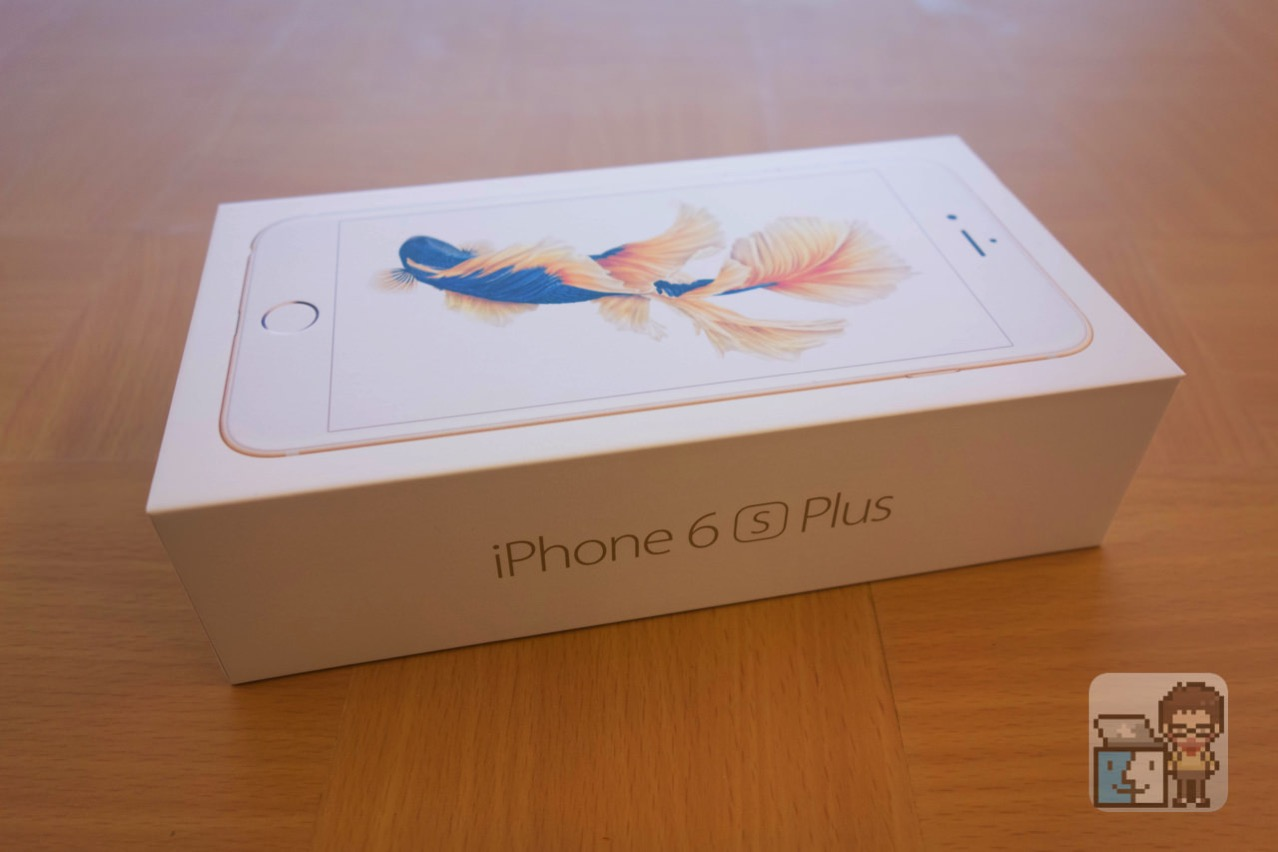 Unboxing iphone 6s plus 128gb gold model2