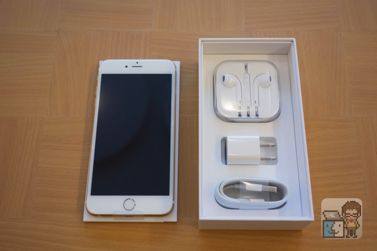 Unboxing iphone 6s plus 128gb gold model4