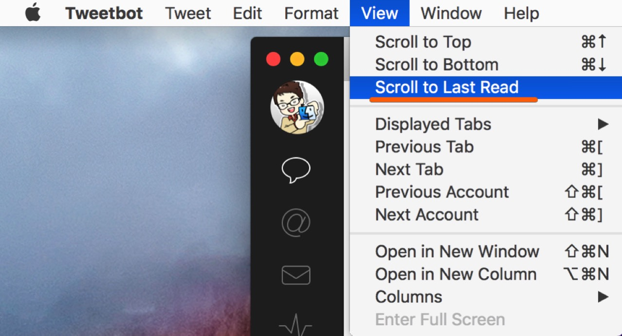 Mac version of tweetbot version 2 1 release1