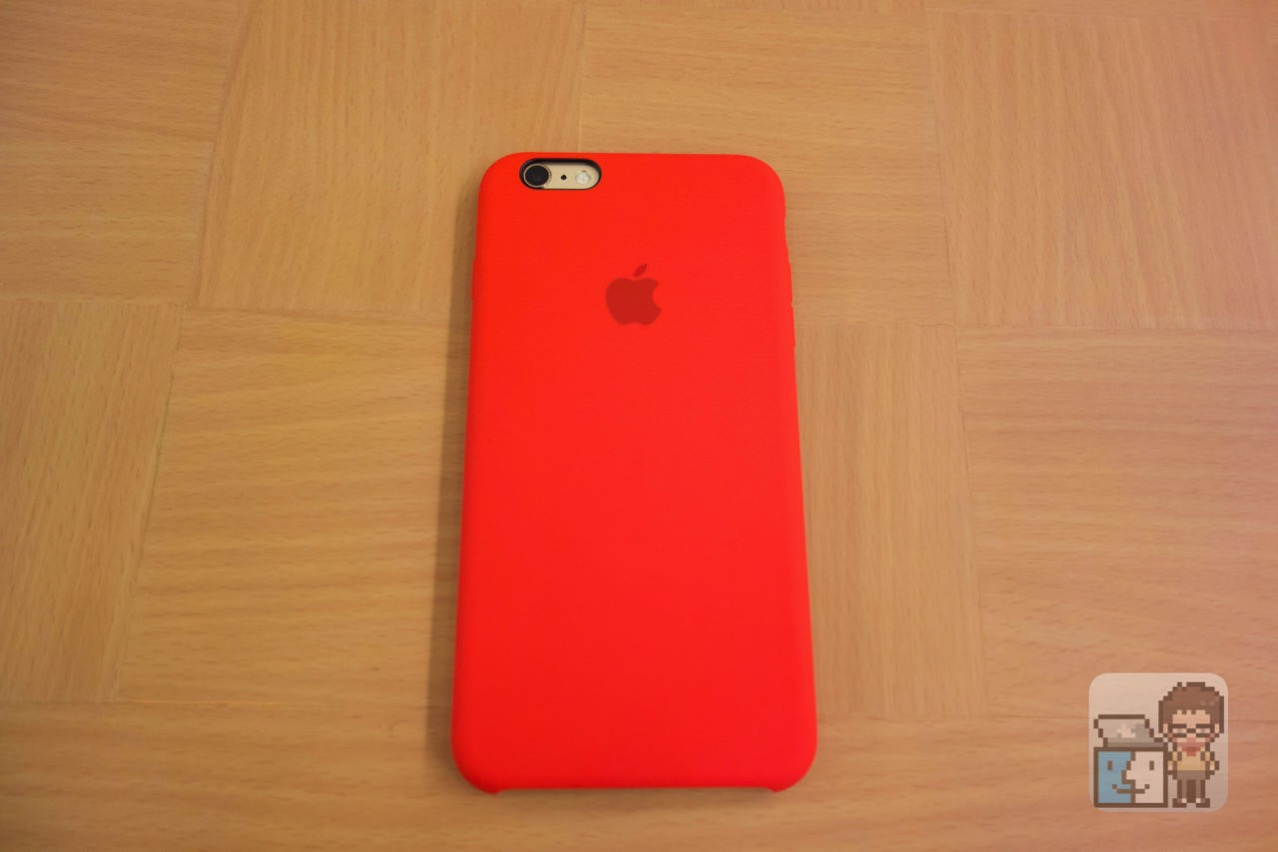 Unboxing iphone 6s plus silicone case product red1